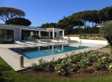 luxury villa in pampelonne