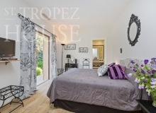 Luxury Sea Side Villa Vieilles Pierres in Saint Tropez - bedroom