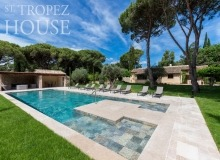 villa for rent pampelonne beach vieilles pierres swimming pool