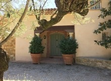 rent villa les parcs de saint tropez escandihade entrance