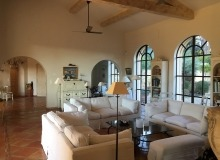 rent villa les parcs de saint tropez escandihade living room