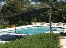 Location Villa Farigoule Saint Tropez Capon - vue piscine