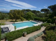 Location Villa Farigoule Saint Tropez Capon - piscine