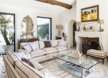 villa for let route des plages st tropez mandalaure living area