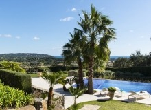 villa for rent route des plages st tropez mandalaure sea view