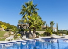 villa for rent route des plages st tropez mandalaure swimming pool