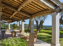 villa for rent route des plages st tropez mandalaure terrace