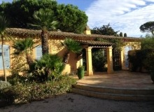 Villa La Florentine for sale in St Tropez- house from the outside
