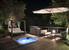 Villa Elegante in Pampelonne - Jacuzzi by night