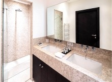villa for rent route des plages st tropez elegante bathroom