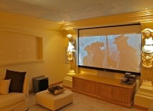 st tropez luxury villa for rent_tv room