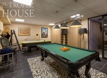 villa for rent pampelonne villa crazy game room pool table