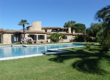 Rent Villa Mas des Oliviers St Tropez Bouillabaisse - swimming pool view