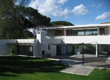 Rent Villa Kub St tropez Route des Plages - house from the outside